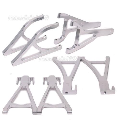 For RC 1:10 Traxxas E-Revo Revo 3.3 Front Rear Upper Lower Suspension Arm Alum