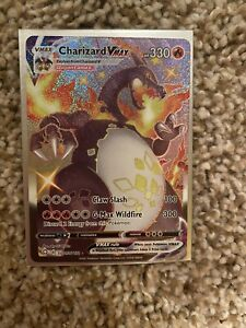 Pokemon Shining Fates Secret Rare Shiny Charizard Vmax Mint