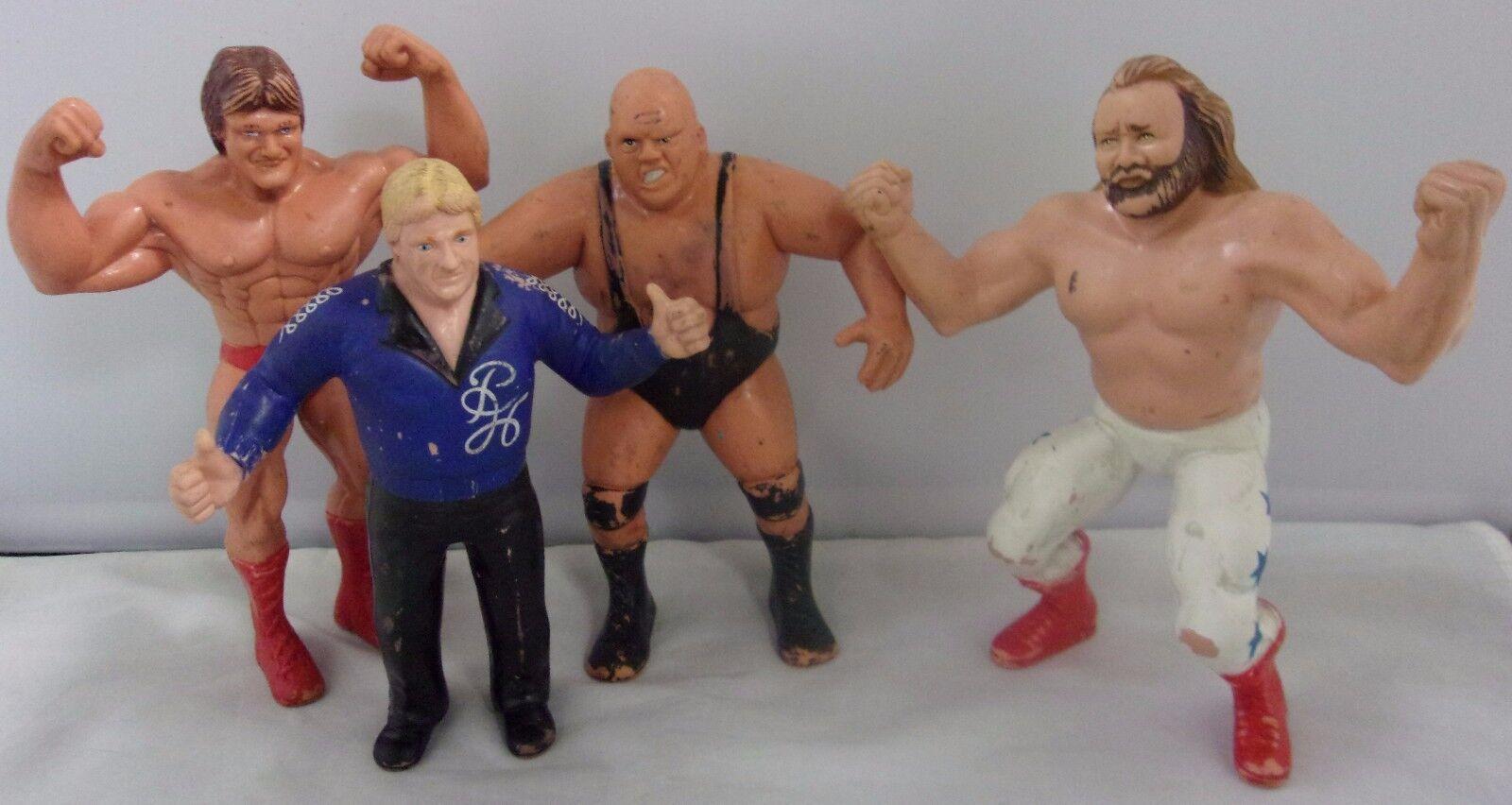 WWF LJN Bobby Heenan Family Lot Bundy Orndorff John Studd  Wrestling Superstars