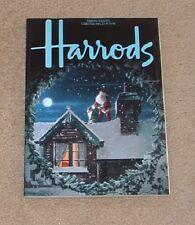 Vintage HARRODS Magazine Christmas 1985*** England/United Kingdom Version