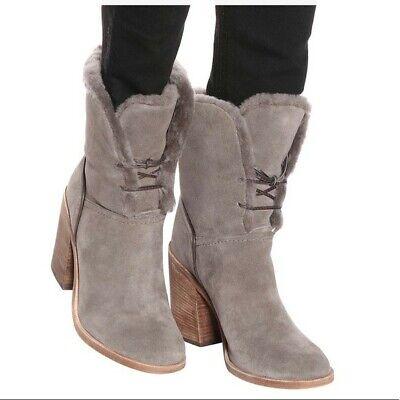 UGG Australia Grey Jerene Mouse Boots