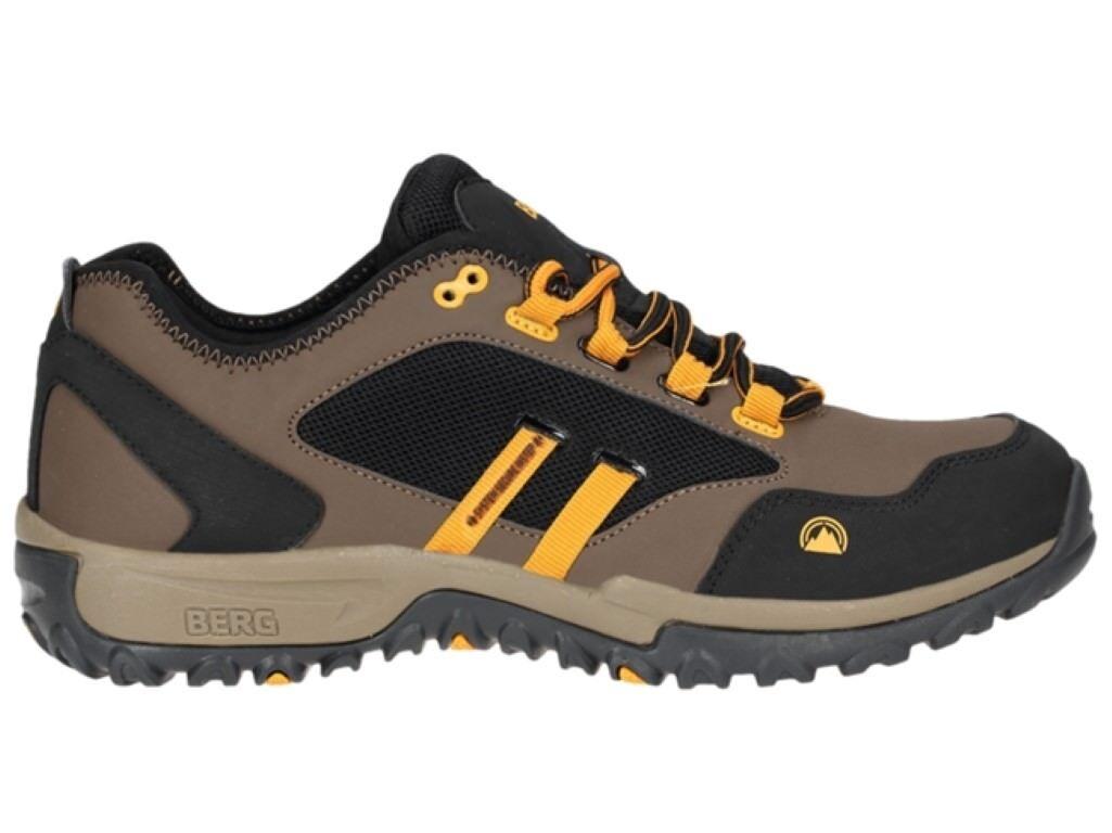 Berg Outdoor Numbat  Lace Up Trainer Brown Black UK 7.5 EU 41 JS51 66
