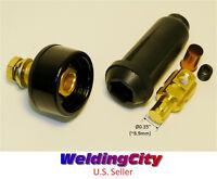 Weldingcity Welding Cable Panel Socket Connector Set 100-200a (6-4) 16-25 Mm^2