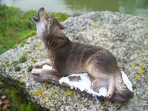 Mo0460 Figurine Statuette Famille Loup Louve Animal Sauvage Dyvgrsqv-07222852-335854721