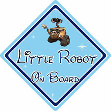 Little Robot On Board Car Sign – Baby On Board – Disney Wall-E