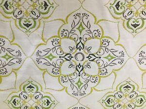 Sunbrella HANELLI color CITRUS Indoor Outdoor Fabric by ...