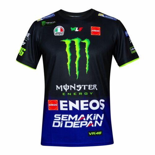 2019 Valentino Rossi VR46 Mens Team T-Shirt Official Yamaha Factory Racing