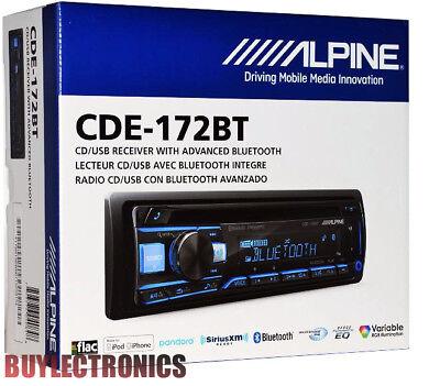 Alpine CDE-172BT In-Dash Car Radio/ Receiver W/ Advanced Bluetooth  /USB/CD/AUX 793276040848 | eBay