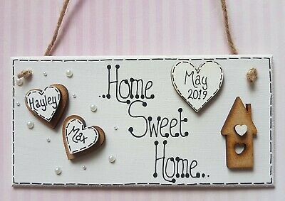 You /& Me = Us Sign Shabby Vintage Chic Wooden Rustic Plaque You and Me