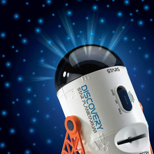 Discovery Kids Planetarium Projector with Rotating Stars and Stationary Slides