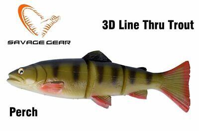 Savage Gear 3D Line Thru Trout 30cm 290g Slow Sinking Schleppköder Perch