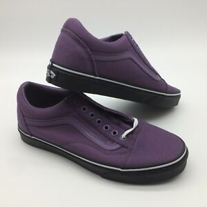 Details about Vans Men's Shoe's ''UA OLD SKOOL'' (Black outsole), Purple