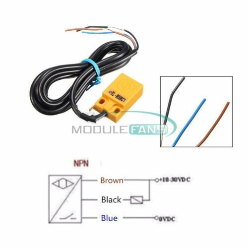 TL-W5MC1 3 Wire Inductive Proximity Sensor Detection Switch 5mm NPN DC 6-36V