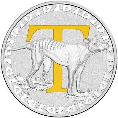 2017 $1.00 Alphabet /'V/' Carded Coin