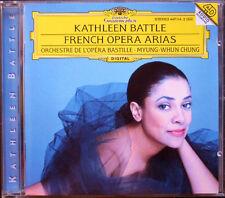 Kathleen BATTLE: French Opera Arias MYUNG-WHUN CHUNG CD Gounod Massenet Berlioz