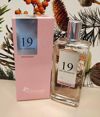 GRASSE PARFUMS EAU DE PARFUM 19 Pour Femme (100 ml 85% vol.) | eBay