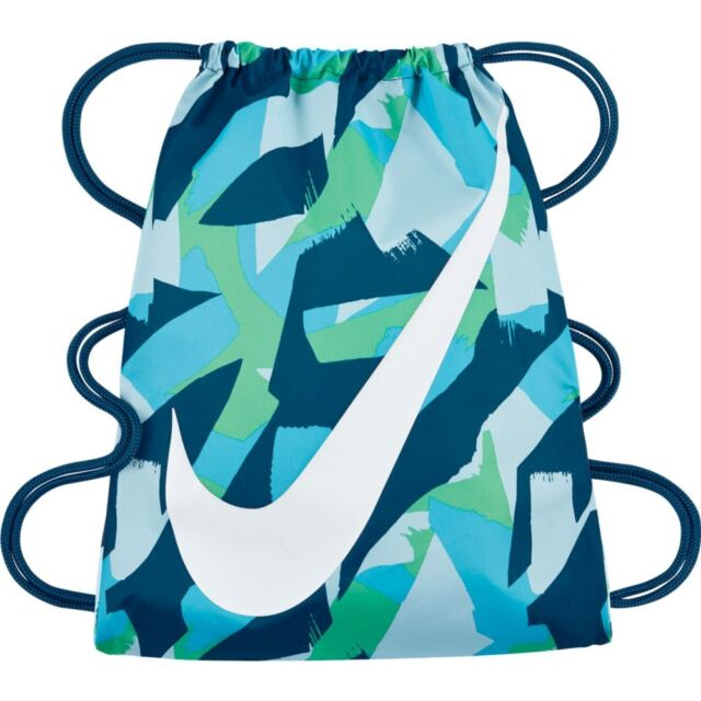 Perforación Mirilla agradable  Nike YA Graphic Gym Sack Lightweight Bag Pack Drawstring Fitness Ba5262-015  for sale online | eBay