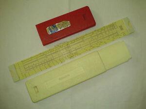 Rechenschieber-Aristo-0903-LL-Rechenstab-Slide-Rule-Slipstick-Made-in-Germany
