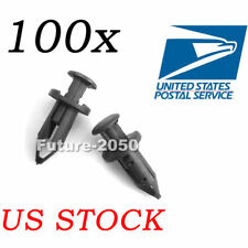 100PCS 8mm ATV Rivet Fender Clips Fit For Honda Rancher Foreman Rincon Rubicon
