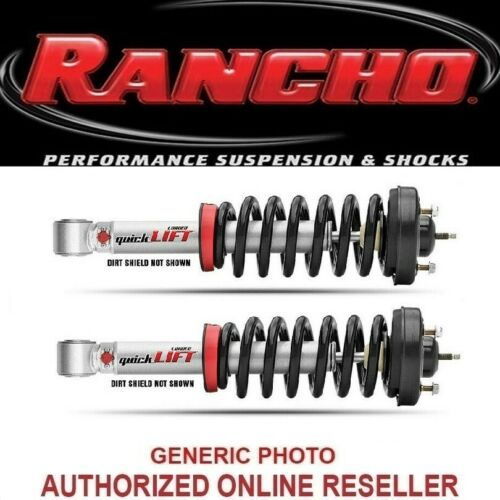 Rancho QuickLIFT Set of 2 Strut Aseemblies Front Fits Toyota Sequoia//Tundra