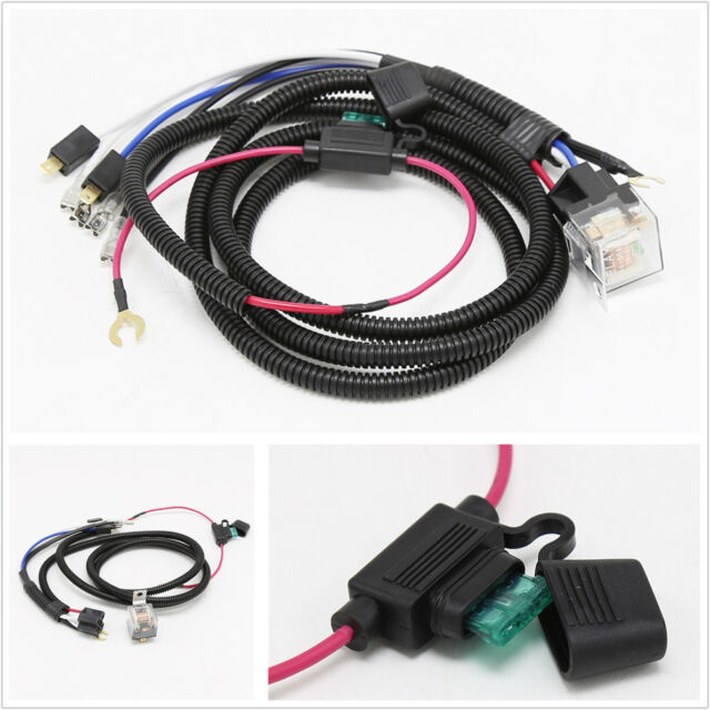 Sensational 12V 80A Car Horn Relay Wiring Harness Kit High Efficient Heat Wiring Cloud Staixuggs Outletorg
