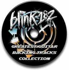 BLINK 182 STYLE ROCK GUITAR AUDIO BACKING TRACKS CD COLLECTION LIBRARY