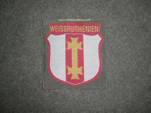 S Weissruthenien Repro Armabzeichen Armschild 30 Waffen-Gren.-Div