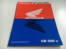 Werkstatthandbuch / Nachtragshandbuch CB 500 -(W) (1997) (PC32)