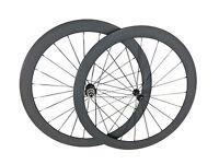 Only 1190g 50mm Tubular Ulta Light Wheelset Full Road Bike Racing Carbon Wheels