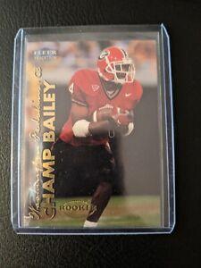 1999 Fleer Tradition Champ Bailey #251 Rookie RC - Washington Redskins NICE CARD