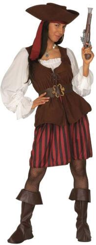 Piratenbraut der Weltmeere Kostüm NEU Damen Karneval Fasching Verkleidung Kost