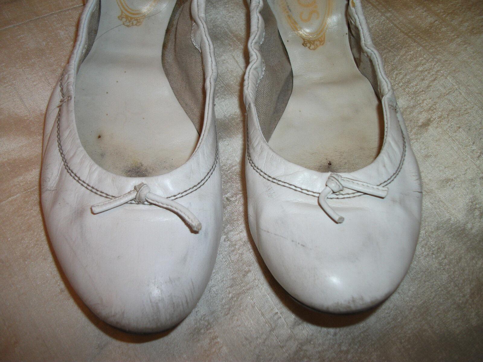 ORIG. TOD'S - esclusivo, di alta qualità, esclusivo, - di colore bianco-Ballerine Tg. 37 0dfad9
