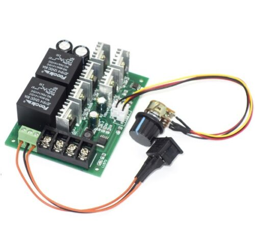 DC9-50V 40A DC Motor Speed Control Reversible PWM Control Forward Reverse Switch