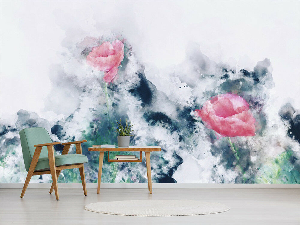 3D Floral Graffiti 67 Wall Paper Exclusive MXY Wallpaper Mural Decal Indoor wall