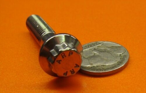 "PT 5//16/""-18 x 1 1//2/"" L Stainless Steel 12 Point Flanged Ferry ARP Bolt 3 Pcs"