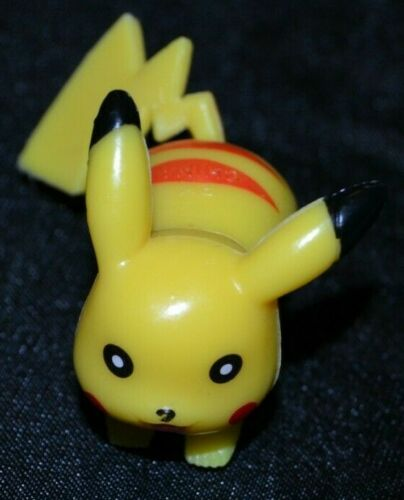 "2/"" Running Pose Pikachu # 25 Pokemon Toys Action Figures Figurines 1st Series 1"