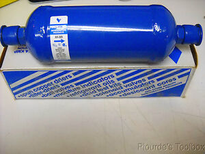 "New Virginia KMP Corp 5/8"" Flare  Filter Drier, AH-305, 30 Cu. In"
