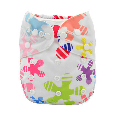 Alva Baby Regular One size Reusable Pocket Cloth Diaper Nappy+1Insert YA137