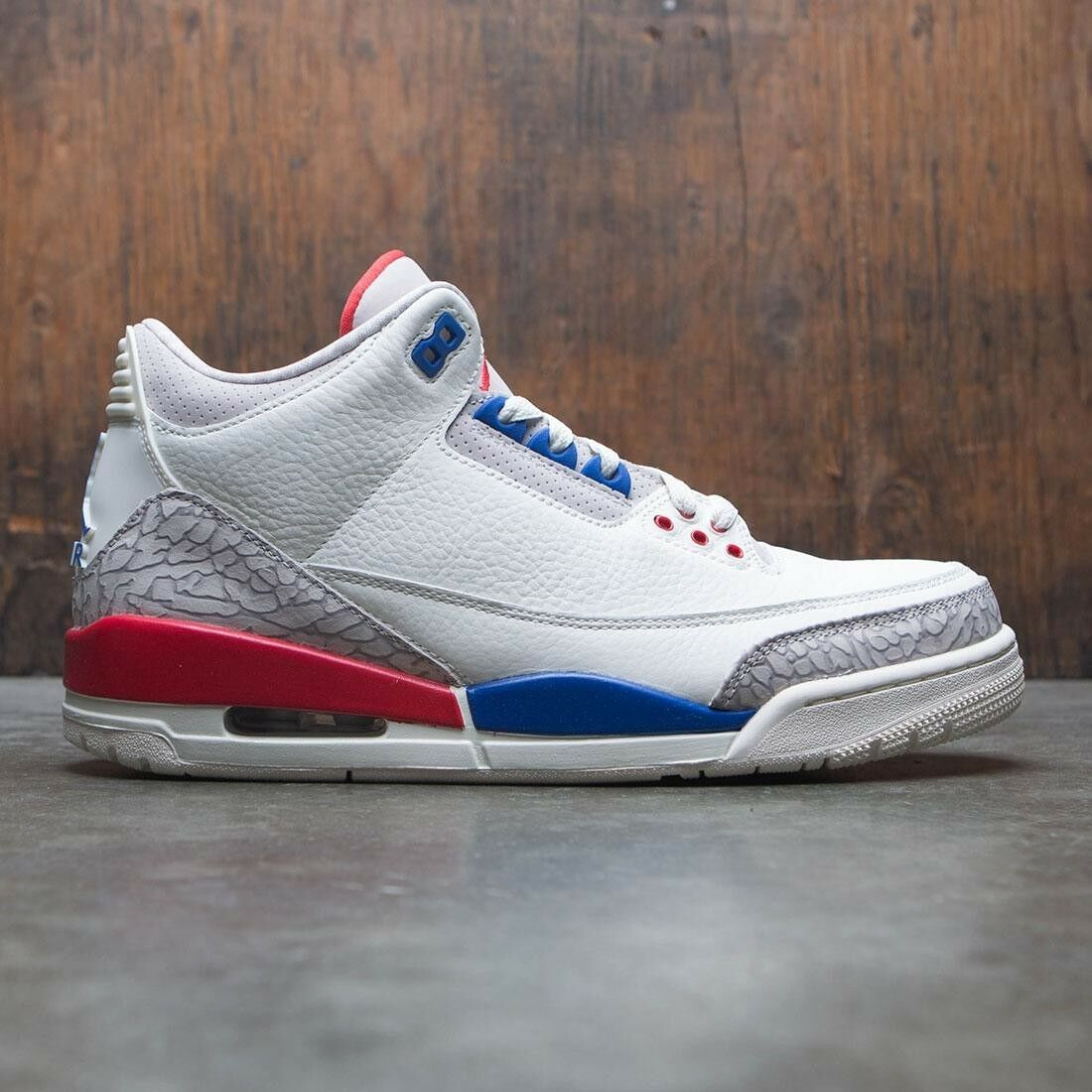 Nike Air Jordan 3 III Game Retro Sail USA Charity Game III Size 11.5. 136064-140 ecc033