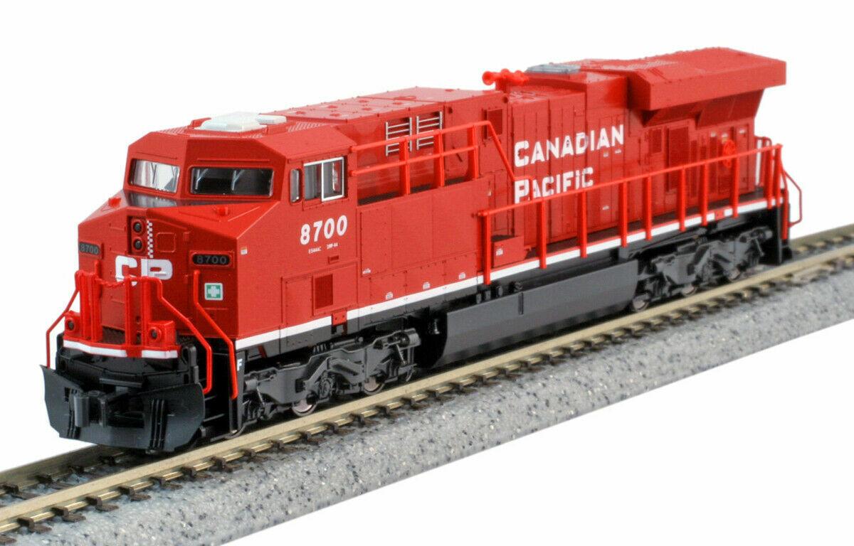 Kato 1768934 N Scala ES44AC Canadian Pacific CP  8700 1768934 NUOVI