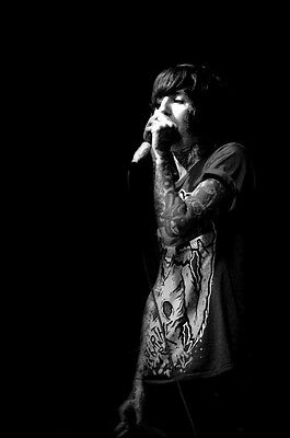 """026 Bring Me The Horizon - BMTH Metalcore Band Oliver Sykes 14""""x21"""" Poster"""