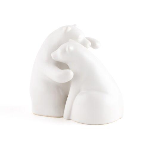 Interlocking Bear Hug Cute Romantic Fun Wedding Cake Topper Reception Hugging