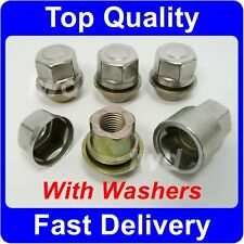 ALLOY WHEEL LOCKING NUTS WITH CAPTIVE WASHERS FOR FORD FOCUS MK1/2/3 ST RS [N6]