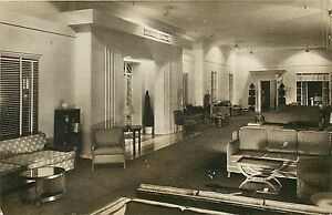Vintage postcard; marshal field modern art deco apartment home
