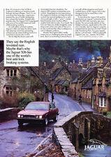 1989 Jaguar XJ6 - ABS Braking System - Original Car Advertisement Print Ad J153