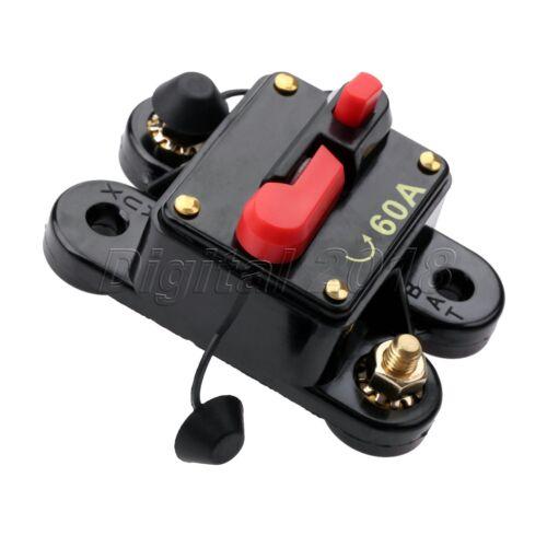 Motor Vehicle Car Audio Circuit Breaker Manual Reset Boat Fuse No Fuse Trouble