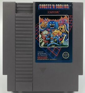 Nintendo-NES-Ghosts-N-Goblins-5-Screw-Cart-Only-Authentic-Tested-Cleaned-Works