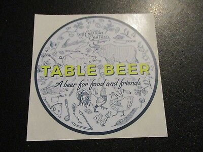 CREATURE COMFORTS co Automatic athena STICKER decal craft beer brewery brewing