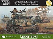 US TANK COMPANY ARMY BOX - PLASTIC SOLDIER COMPANY - 15MM - WW2