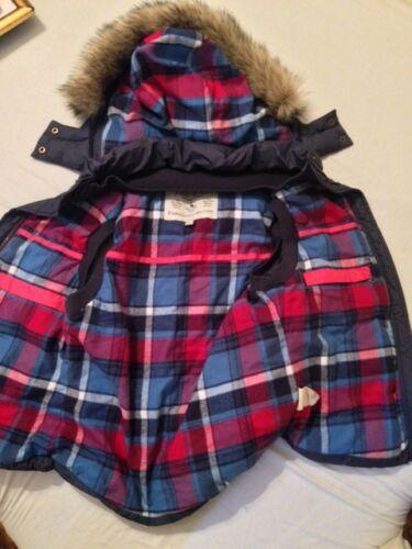 Uk 4 Us Gilet Eu W 36 £ Fur Bodywarmer 98 Pink Wills 8 Blue Hood Jack Tartan Navy v7qxZSw6v